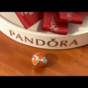 Pandora Charm- Baby Butterflies Orange